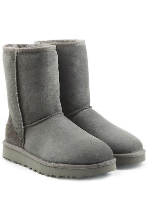 Classic Short Suede Boots Gr. US 6