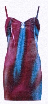 AREA Satin Dress