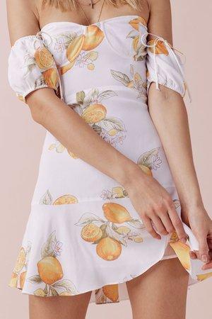 Lemonade Mini Dress – For Love & Lemons