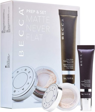 Prep & Set Matte Never Flat Kit