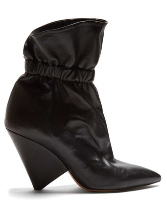 Bottines en cuir Lileas | Isabel Marant | MATCHESFASHION.COM FR