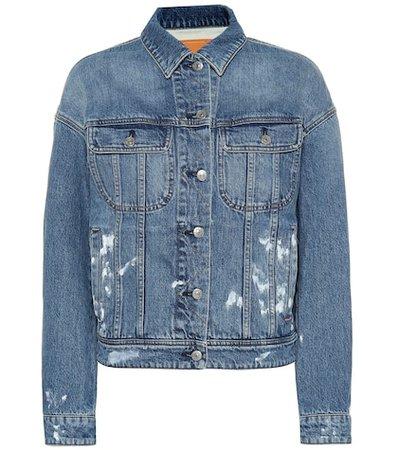 Blå Konst jean jacket