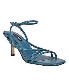 Nine West Women's Fabiola Square-Toe Slide Sandals & Reviews - Sandals - Shoes - Macy's
