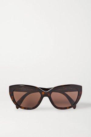 Prada | Round-frame tortoiseshell acetate sunglasses | NET-A-PORTER.COM