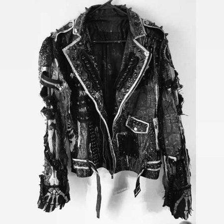 Jacket Grim by Chad Cherry