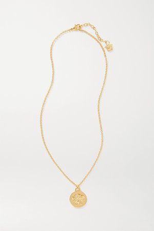 Gold Gold-tone necklace | Versace | NET-A-PORTER