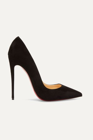 Black So Kate 120 suede pumps | Christian Louboutin | NET-A-PORTER