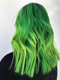 green hair - Google Search