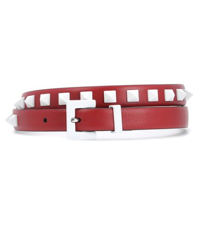 Valentino Garavani Free Rockstud leather belt