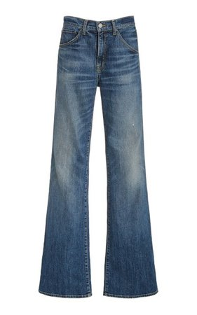 Celia Stretch High-Rise Flared-Leg Jeans By Nili Lotan | Moda Operandi