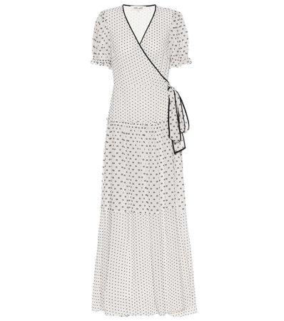 Diane von Furstenberg, Breeze maxi wrap dress
