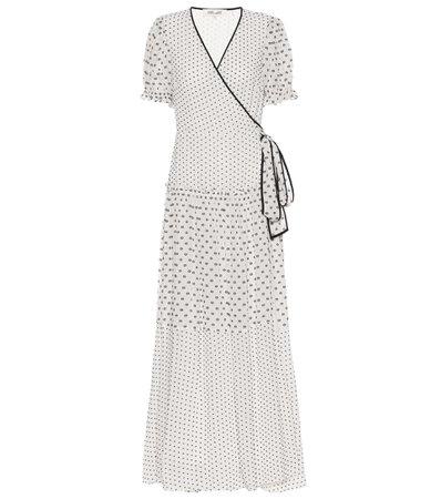 Diane von Furstenberg, Breeze maxi wrap dress