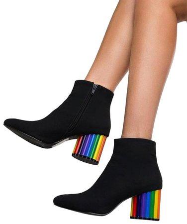 Rainbow boots 4