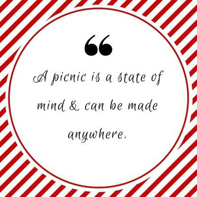 - 22 Fun and Sweet Quotes About Picnics - EnkiQuotes | Quality quotes | Picnic quotes, Picnic plates, Family picnic