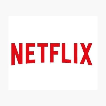"""Netflix logo "" Photographic Print by Katie358 | Redbubble"