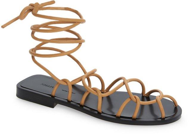 Lyon Ankle Tie Sandal