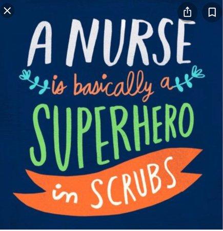 nurse - superhero sign