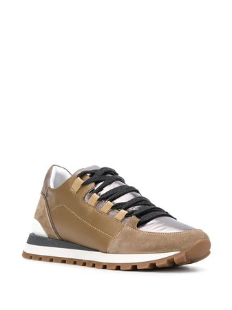 Brunello Cucinelli round-toe lace-up Sneakers - Farfetch
