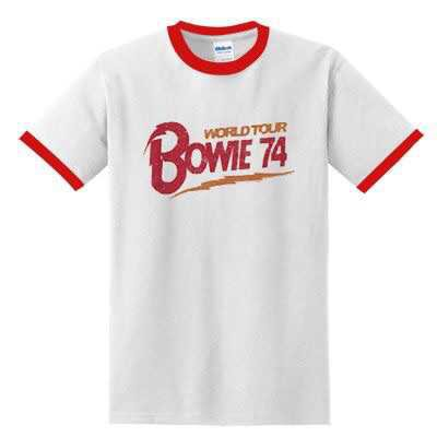 Bowie World Tour 74 T-SHIRT