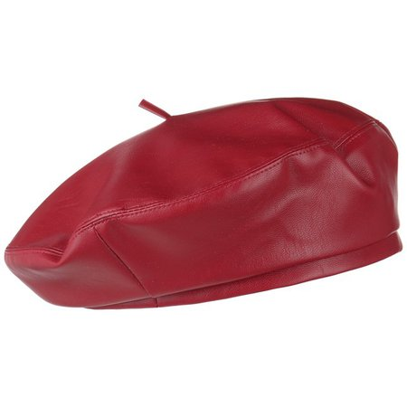 Faux Leather Beret by Lipodo - 19,95 €