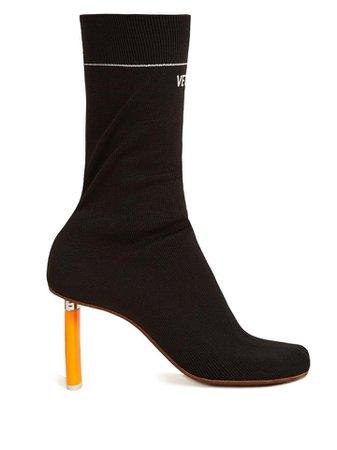 VetementsVetements Lighter-heel sock ankle boots