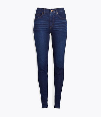 Skinny Jeans in Classic Dark Indigo Wash