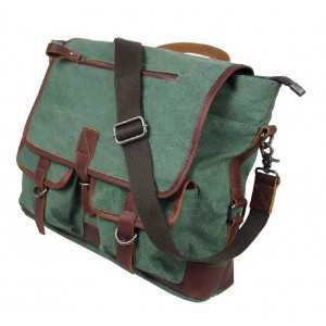 Mens canvas messenger bags, mens canvas satchel bags - BagsWish