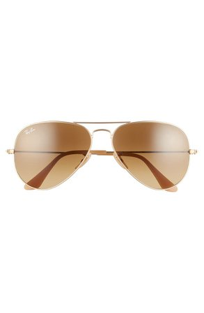 Ray-Ban Standard Original 58mm Aviator Sunglasses | Nordstrom
