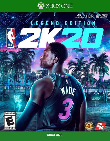 Amazon.com: NBA 2K20 Legend Edition Xbox One: Take 2 Interactive: Video Games