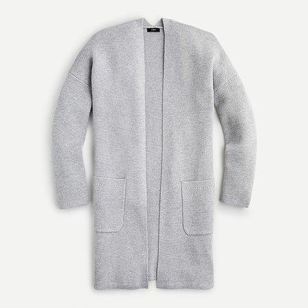 J.Crew: Open-front Cardigan-jacket For Women