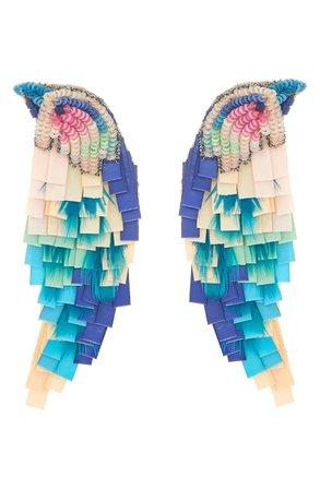 Mignonne Gavigan Bird Embellished Drop Earrings | Nordstrom