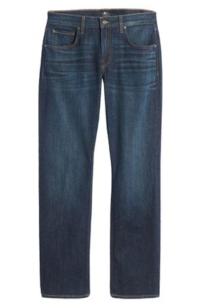 7 For All Mankind® The Straight Slim Straight Leg Jeans (Runyon) | Nordstrom