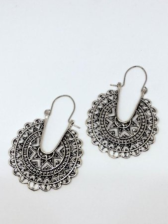 Silver Boho Earrings