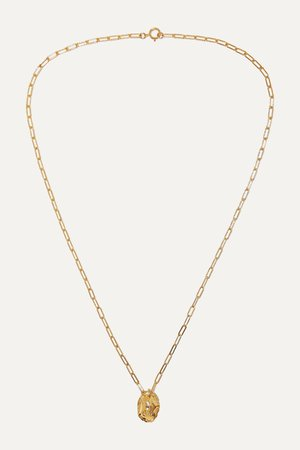 Gold The Infinite Offering gold-plated necklace | Alighieri | NET-A-PORTER