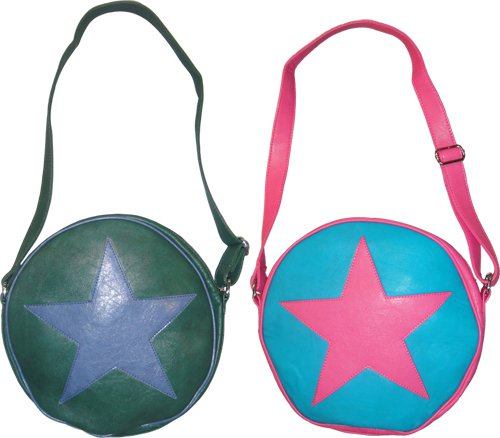 star circle messenger bag