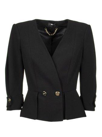 Elisabetta Franchi Celyn B. Jacket With Flashes
