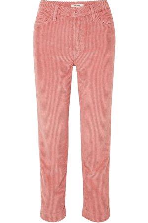 GRLFRND   Helena cotton-blend corduroy straight-leg pants   NET-A-PORTER.COM