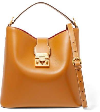 Murphy Leather Bucket Bag - Tan