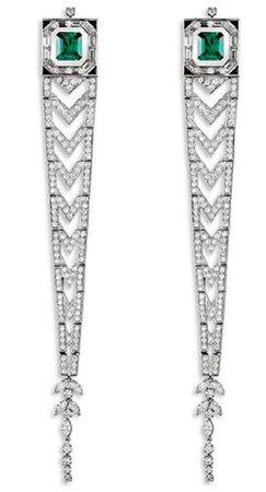 alexandre vauthier silver earrings