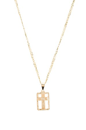 The Martina Cross Pendant Necklace