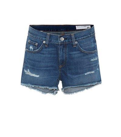 Johny denim cut-off shorts