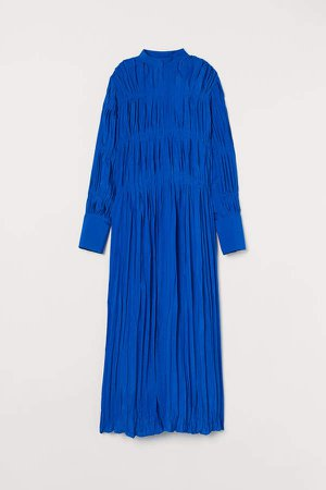 Voluminous Dress - Blue