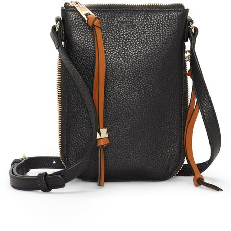 Corin Leather Phone Crossbody Bag
