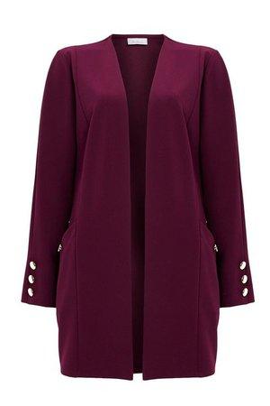 Berry Stud Jacket - Jackets & Blazers - Clothing - Wallis US