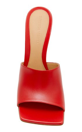 Stretch Leather Slide Sandals by Bottega Veneta | Moda Operandi