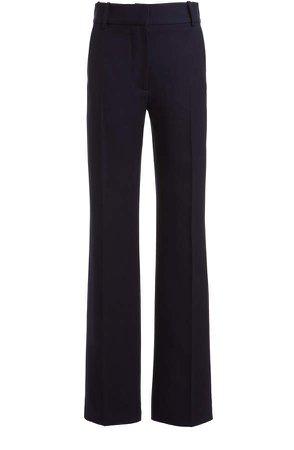 Victoria Beckham Straight-Leg Wool Trouser
