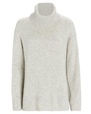 Imogen Cashmere-Silk Turtleneck Sweater