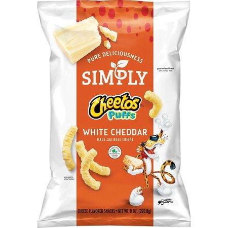Simply Cheetos White Cheddar Puffs - 8oz : Target