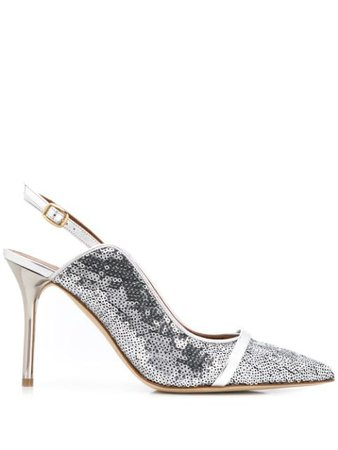 Silver Malone Souliers Marion pumps - Farfetch