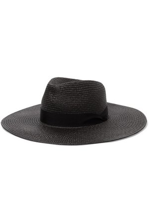 rag & bone | Grosgrain-trimmed straw Panama hat | NET-A-PORTER.COM